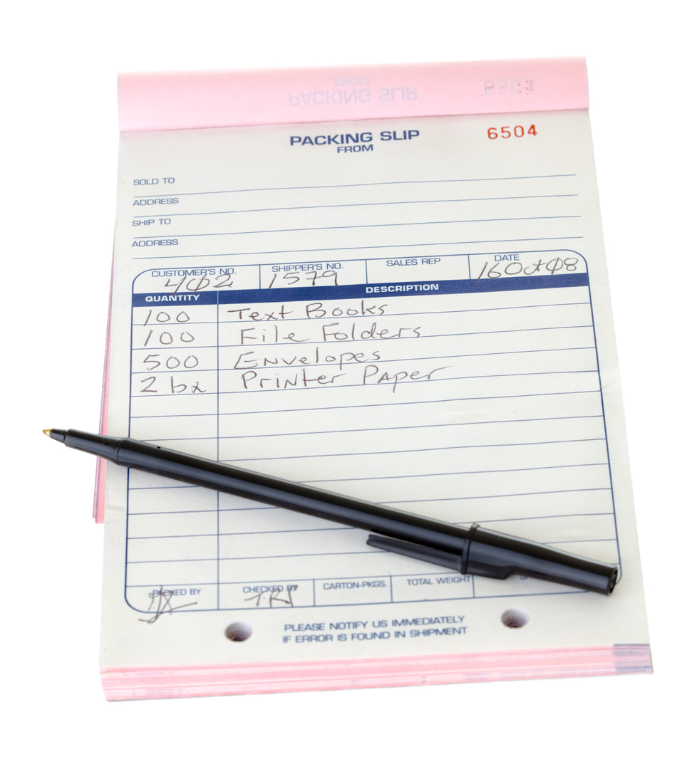 carnet autocopiant personnalisé